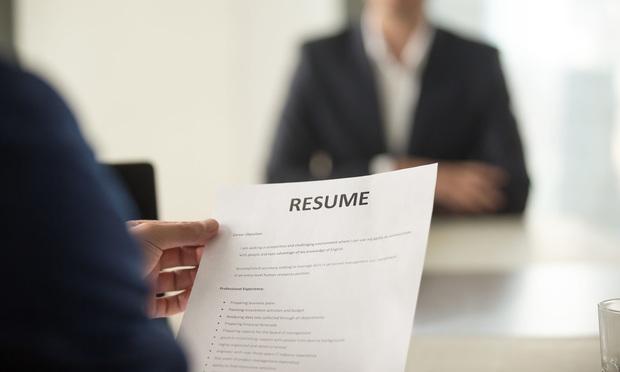 Resume Job Hiring